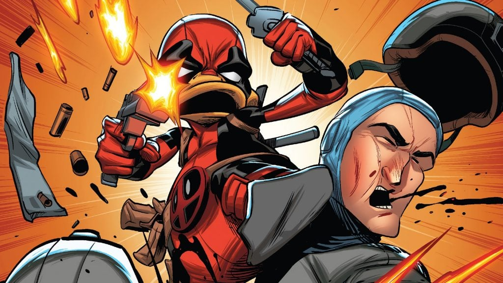 Deadpool il Papero fight