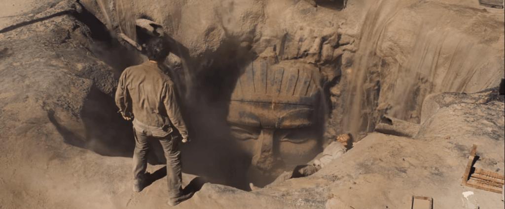 La mummia 2017 tomba