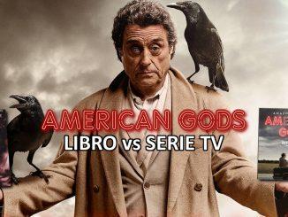 American Gods Libro vs Serie tv