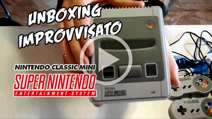 Super Nintendo Classic Mini Unboxing