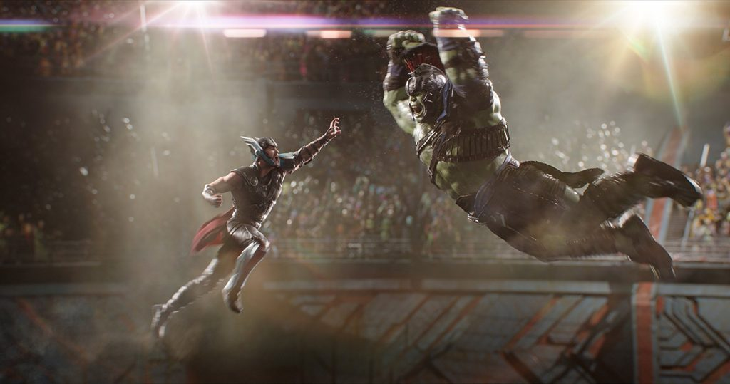 thor: ragnarok thor and hulk
