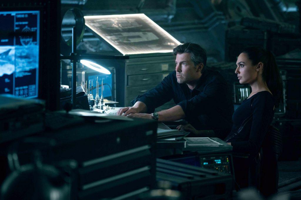 Justice League Bruce e Diana