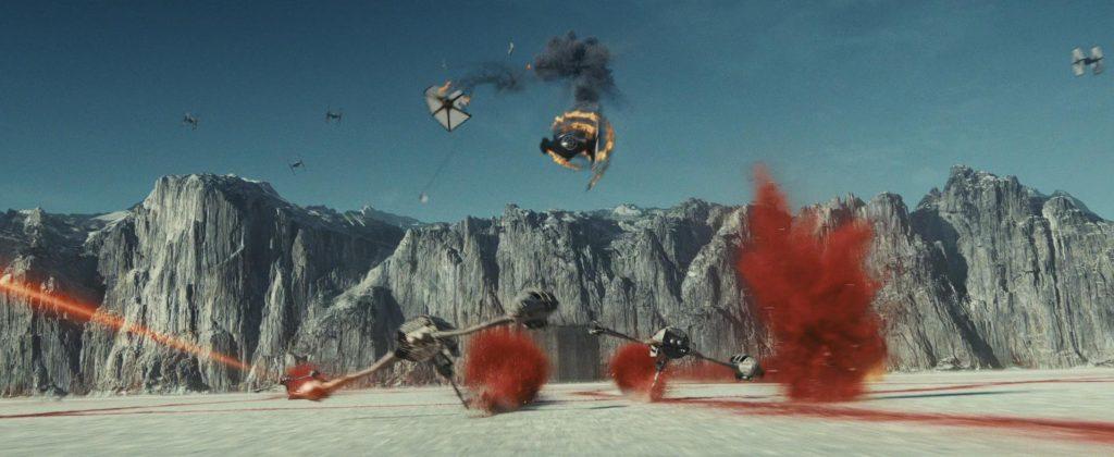 Star Wars Gli Ultimi Jedi battaglia
