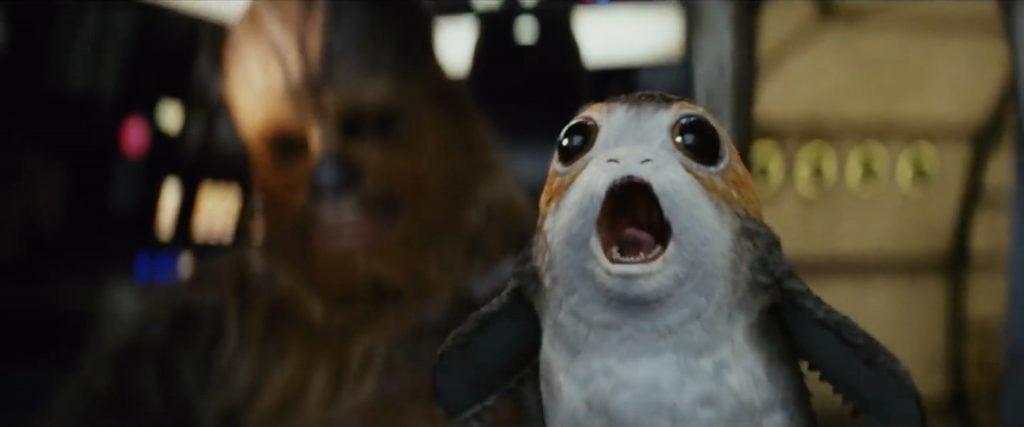 Star Wars Gli Ultimi Jedi Porg