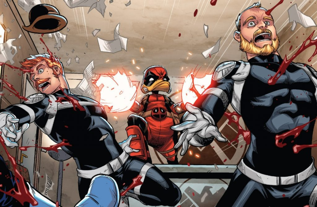 Deadpool il Papero pistole