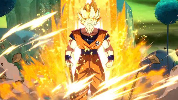 dragon ball fighterz goku super saiyan