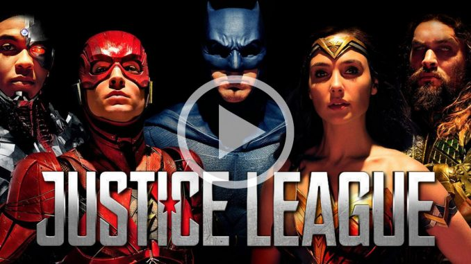 justice league video