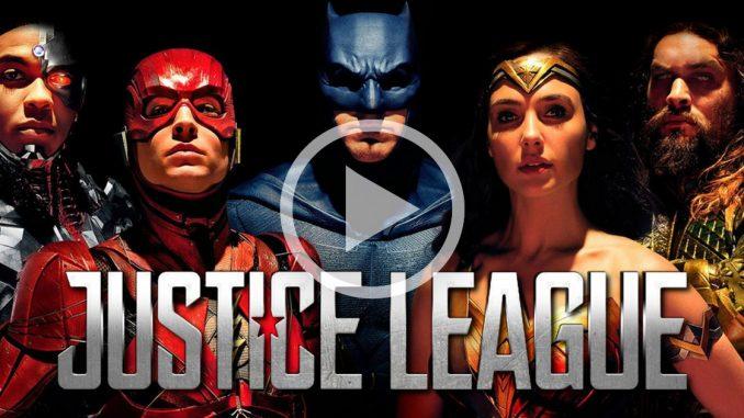 justice league video