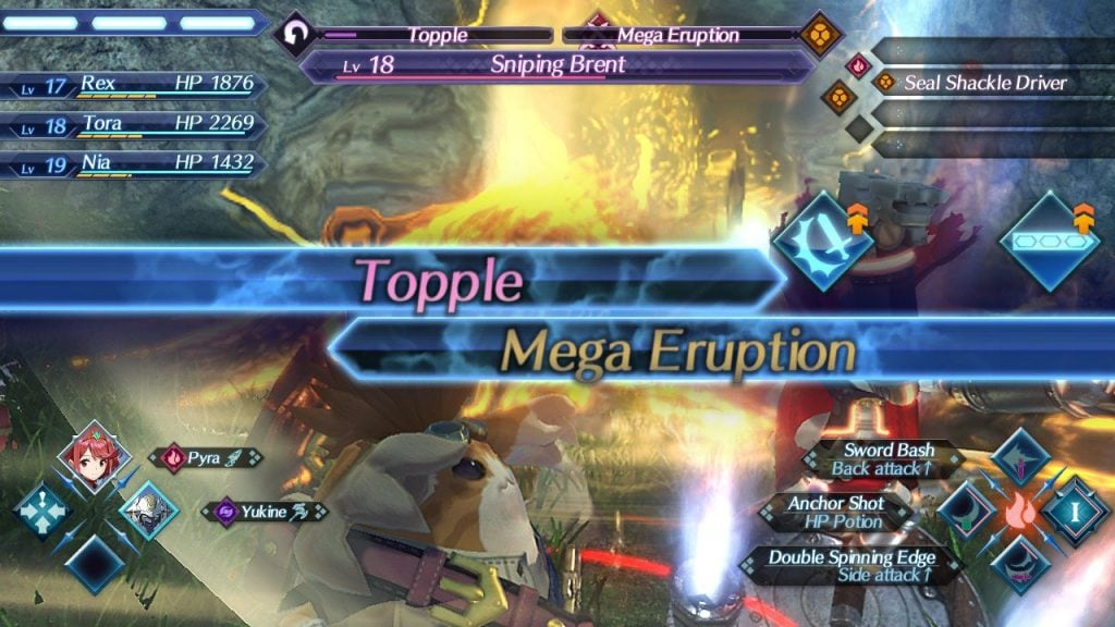 Xenoblade chronicles 2 mega eruption