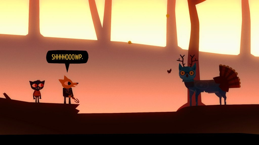 night in the woods foresta