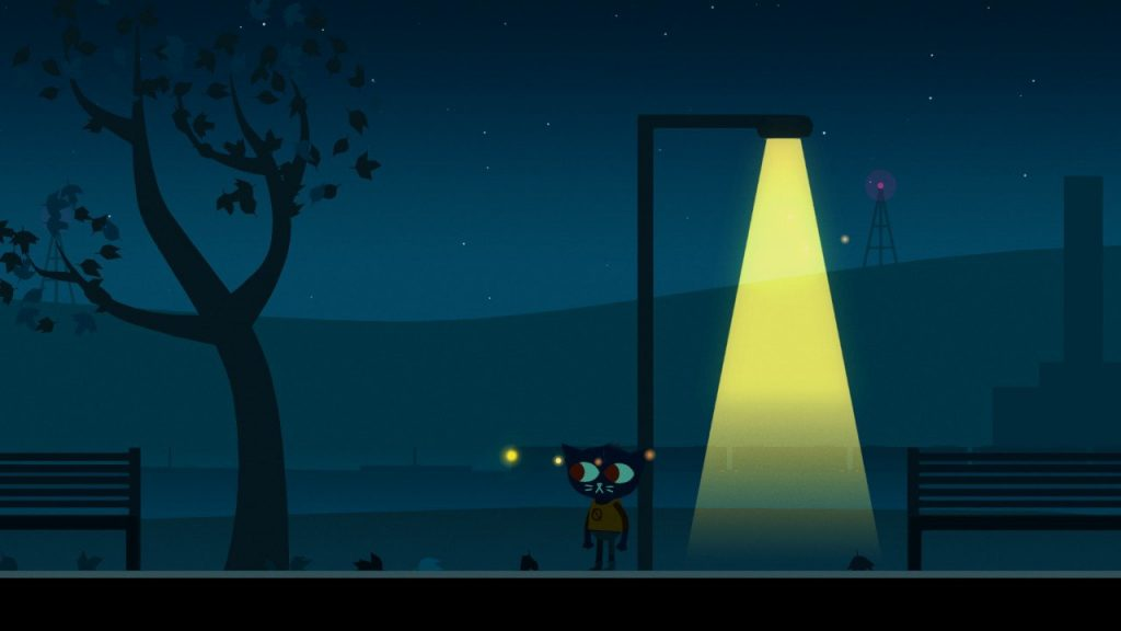 night in the woods mae notte