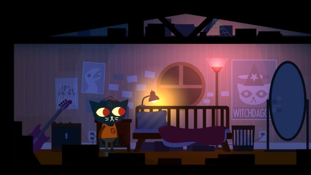 night in the woods mae camera