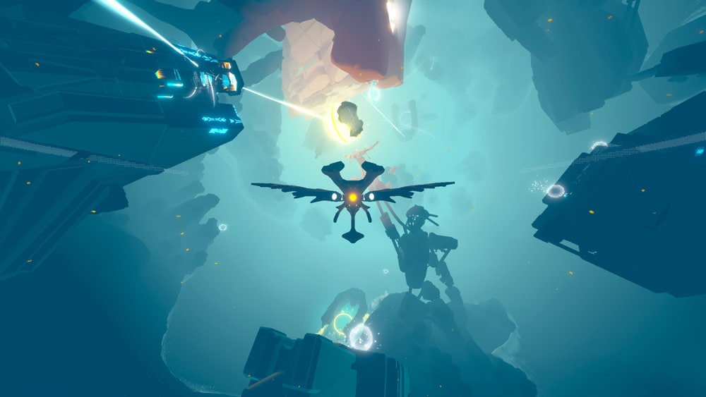 innerspace videogame reliquie sfere