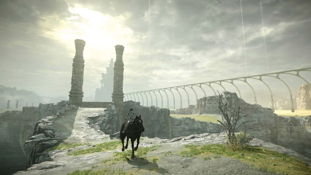 shadow of the colossus remake wander e agro