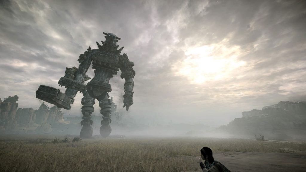 shadow of the colossus remake colosso