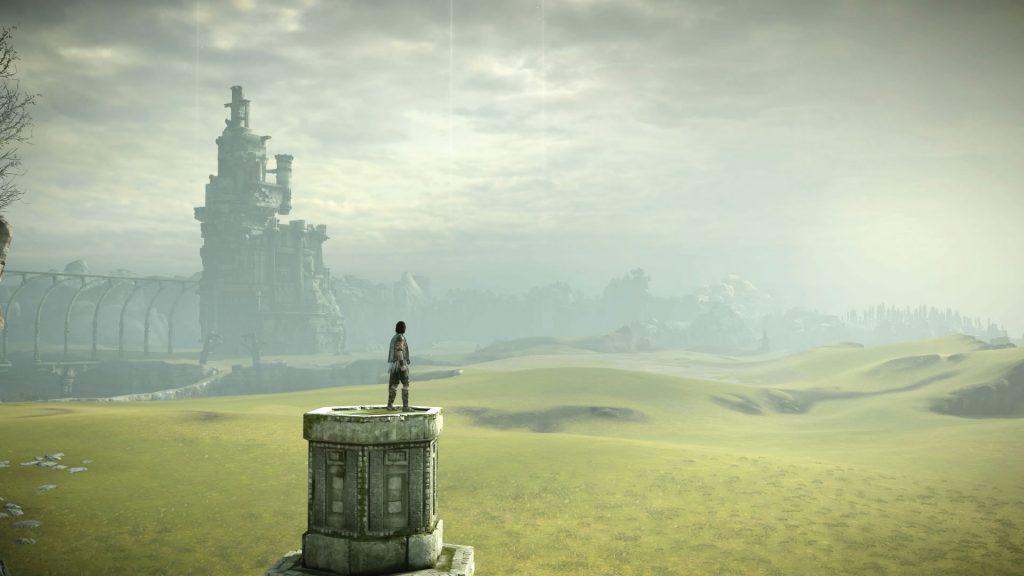 shadow of the colossus remake paesaggio