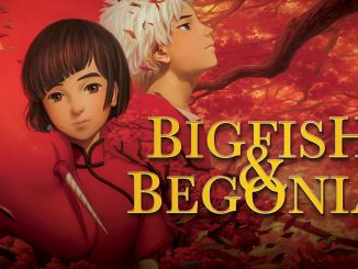 big fish & begonia film d'animazione