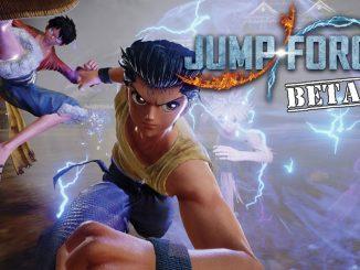 jump force beta ottobre 2018