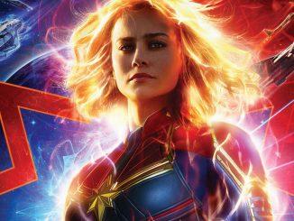 captain marvel poster cover