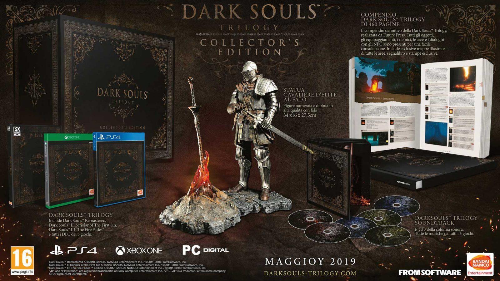 Dark Souls Trilogy Avrà Una Collectors Edition Anche In