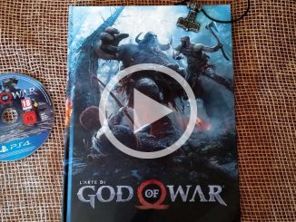 larte di god of war artbook magic press edizioni