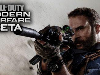 call of duty modern warfare 2019 beta