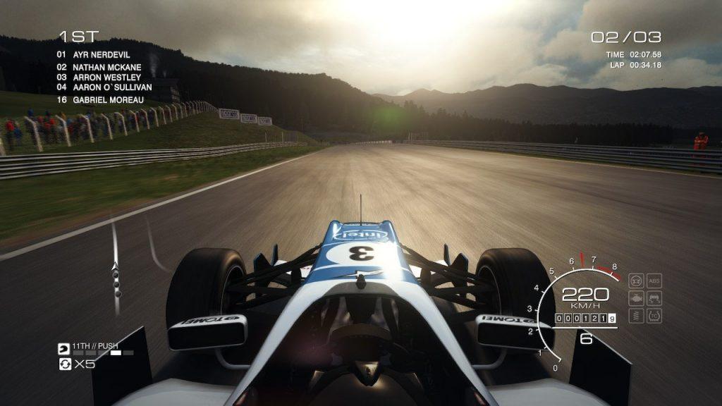 GRID Autosport nintendo switch Formula