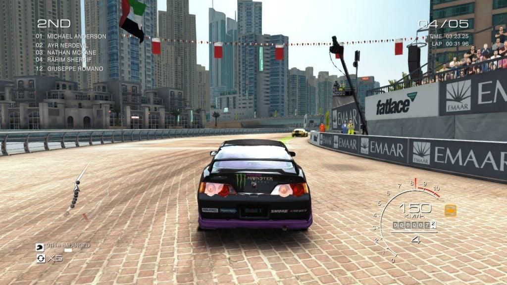 GRID Autosport nintendo switch circuito cittadino