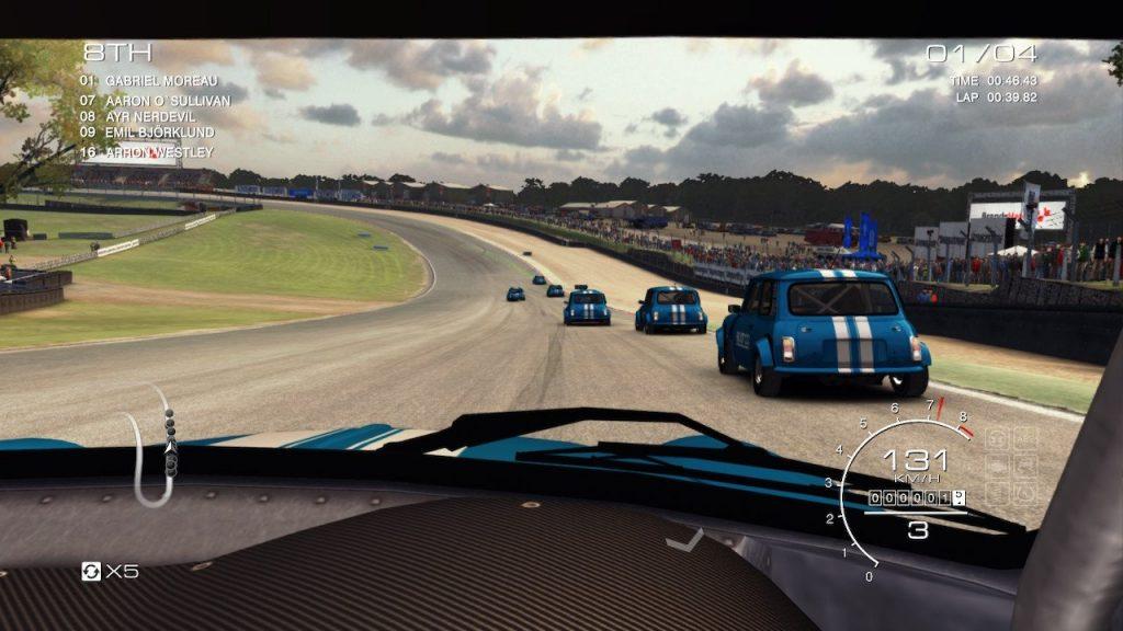 GRID Autosport nintendo switch grafica