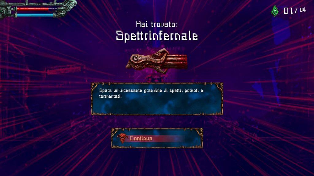 Valfaris arma spettrinfernale