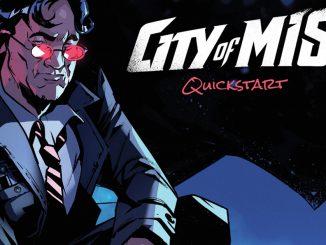 city of mist quickstart gratuita