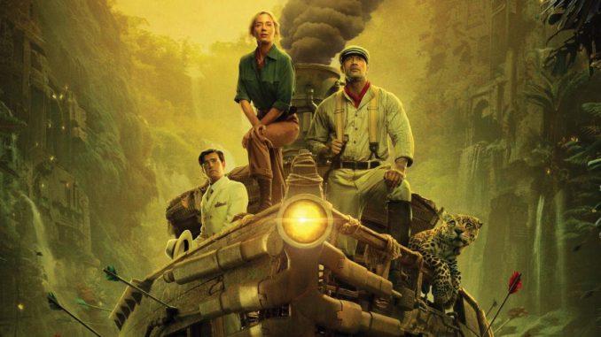 jungle cruise film disney trailer poster