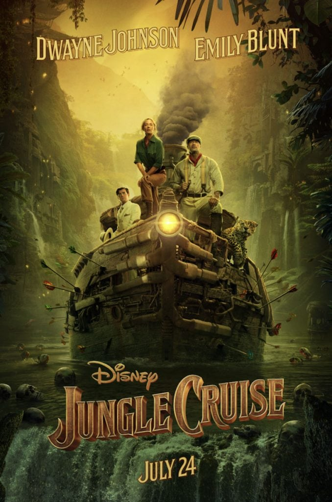 jungle cruise film disney poster ufficiale