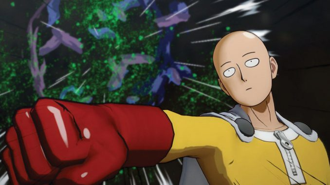 one punch man a hero nobody knows gameplay2