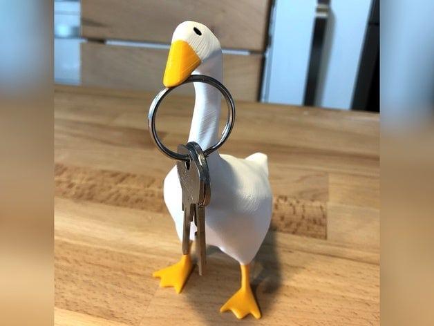 untitled goose game modello 3d stampabile chiavi