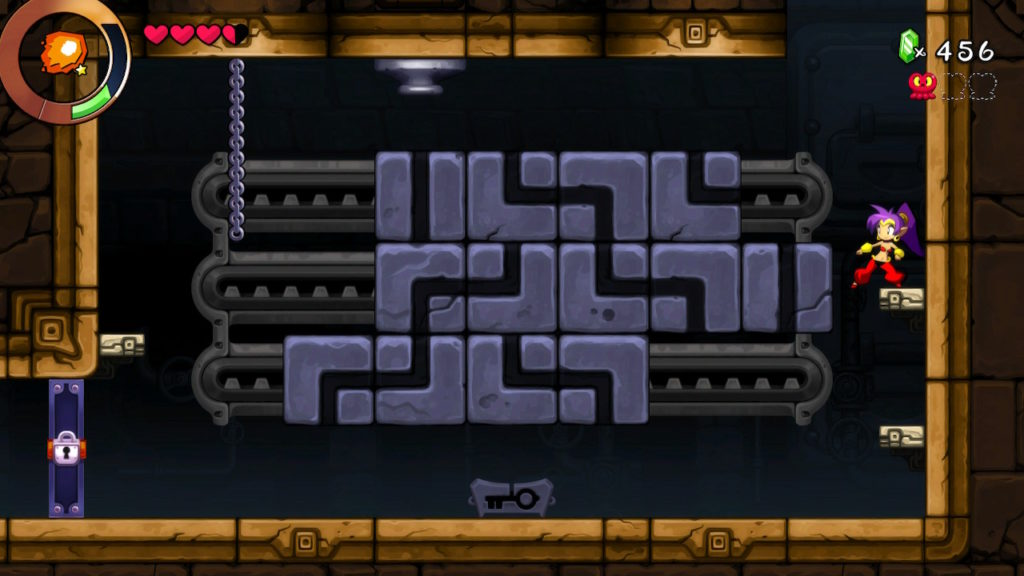 Shantae and the Seven Sirens puzzle
