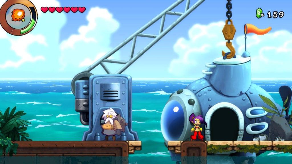 Shantae and the Seven Sirens NPC