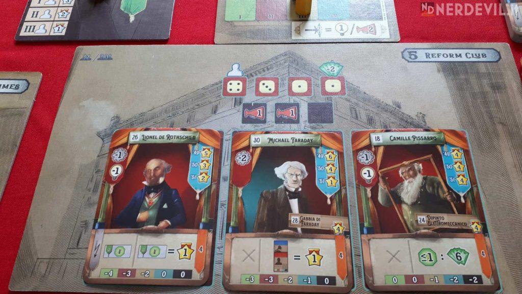 crystal palace gioco plancia carte