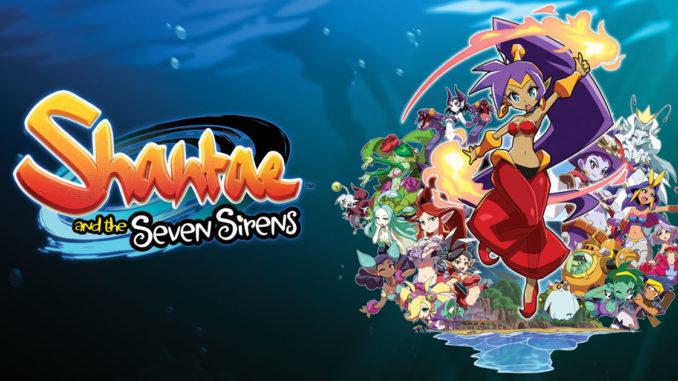 shantae and the seven sirens nintendo switch