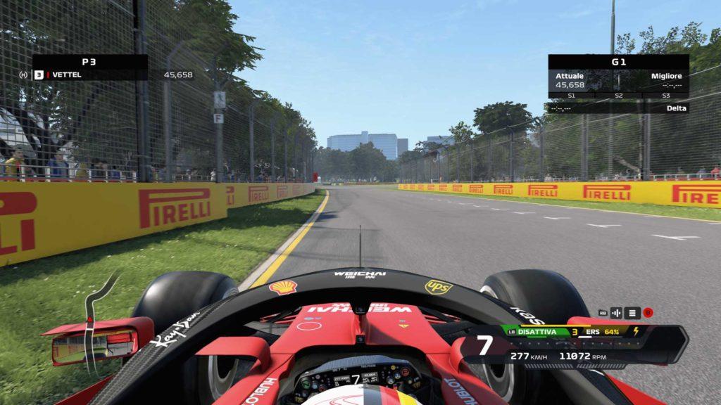 F1 2020 videogame Ferrari SF1000