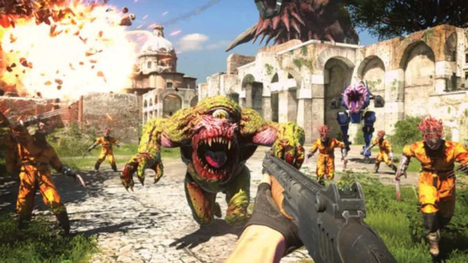 serious sam 4 gameplay trailer 2020