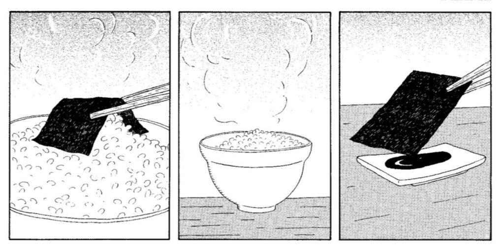 La taverna di mezzanotte manga 1 riso