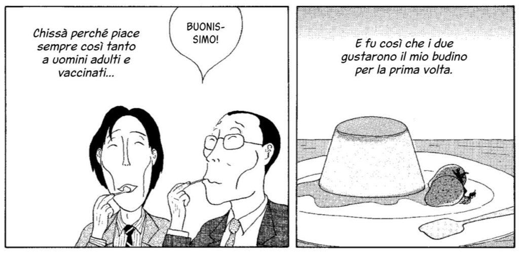 La taverna di mezzanotte manga 1 dolce