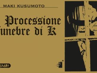 la processione funebre di k manga star comics