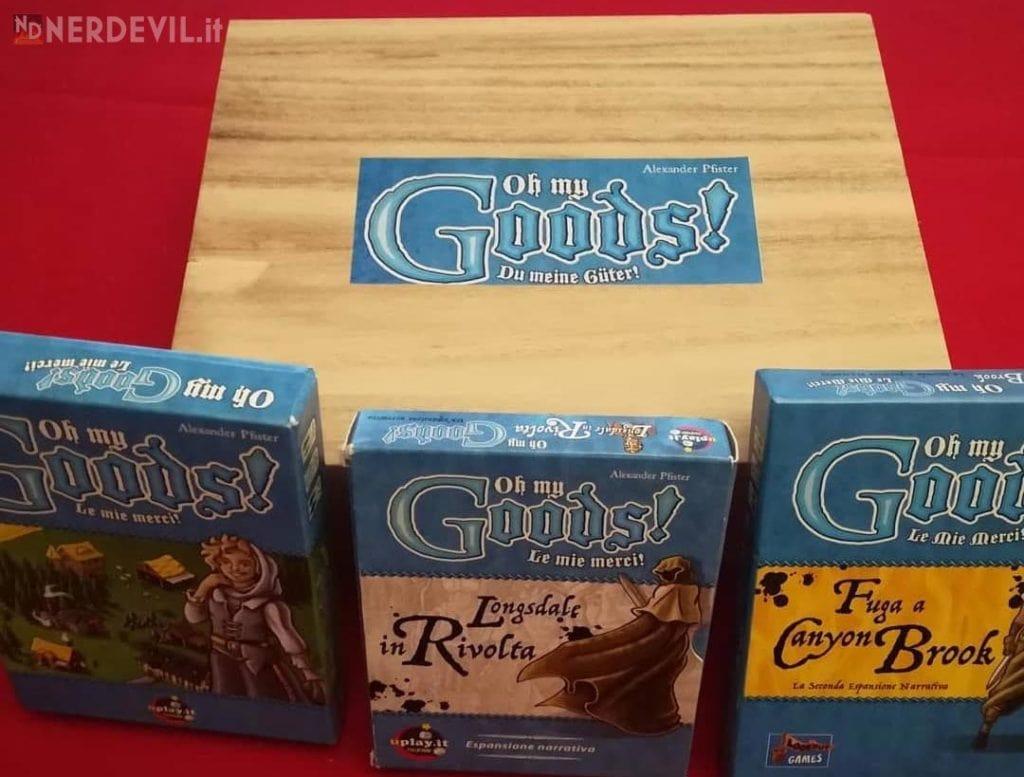 Oh, my Goods! scatola