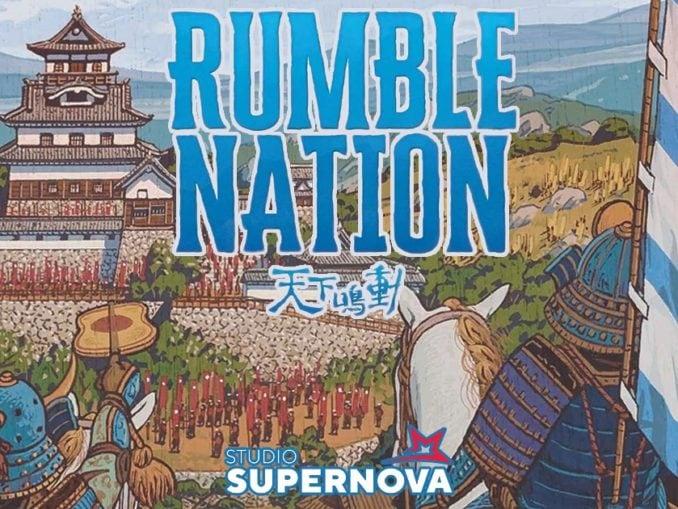 rumble nation gioco da tavolo studio supernova