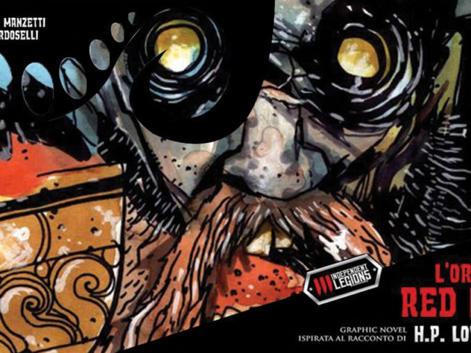 l'orrore a red hook fumetto independent legions