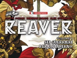 reaver volume 1 fumetto saldapress