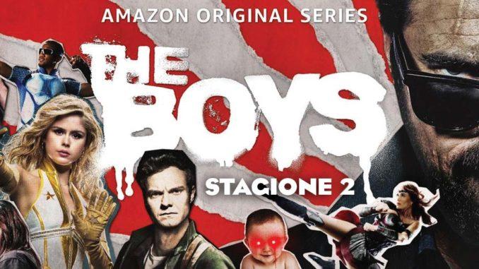 the boys stagione 2 amazon prime video
