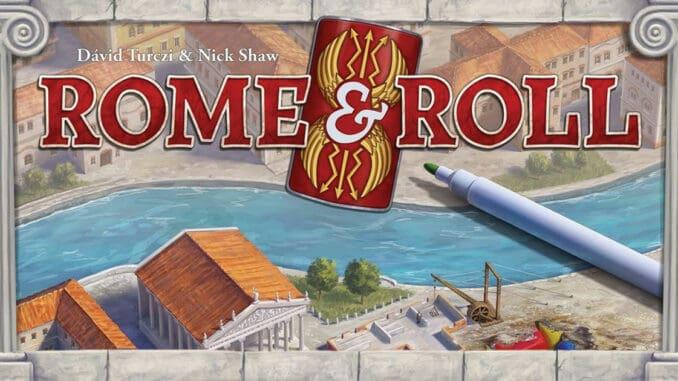 rome and roll gioco da tavolo giochix